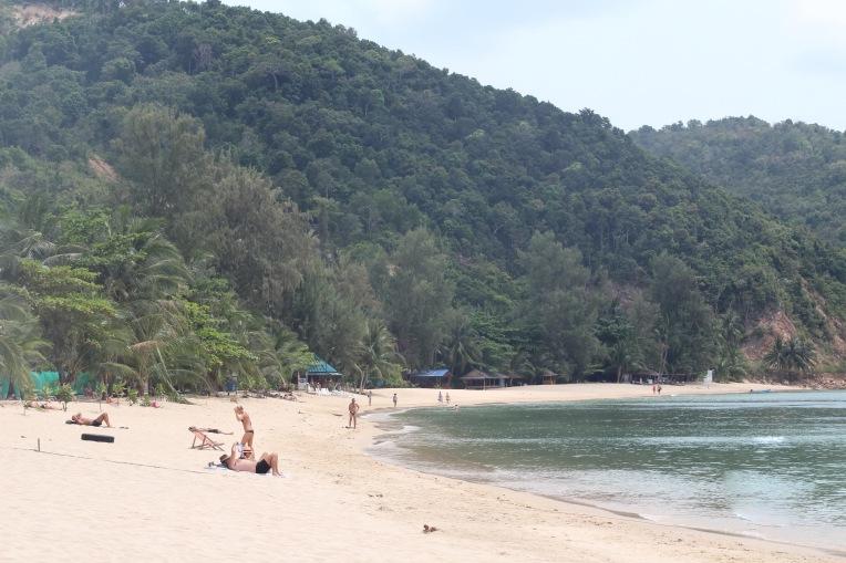 Playa Haad Mae Haad Koh Phangan Tailand