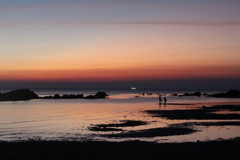 Atardecer en la Playa Haad Chao Phao