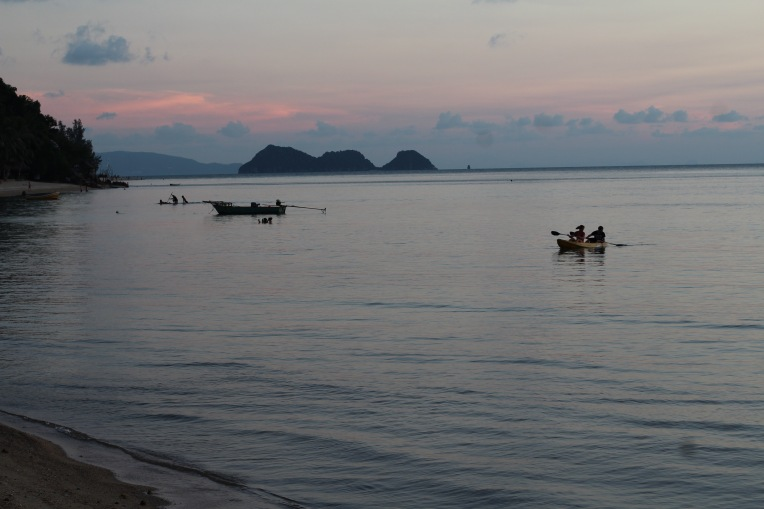 atardecer islas tailandesas sunset in thai island beaches