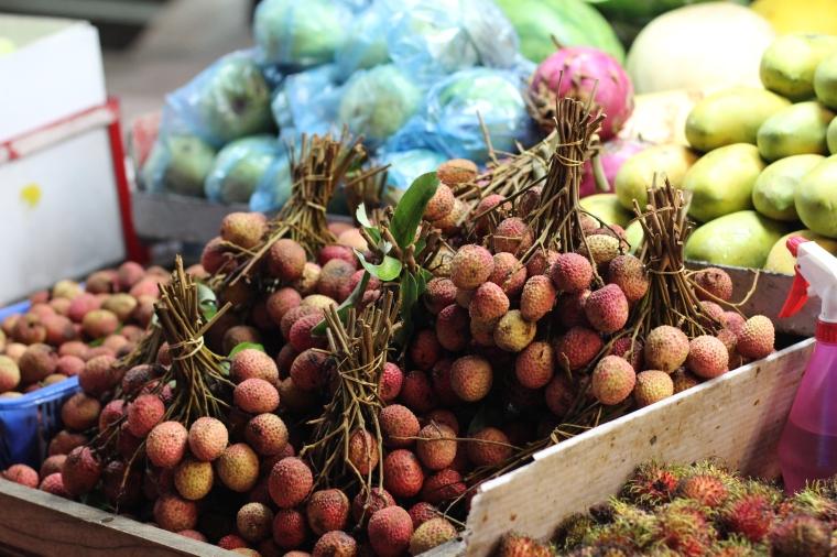 fruta lichi