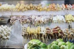 Malay street food Comida callejera malaya