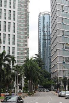 Un poco de la zona que me recordó a Caracas