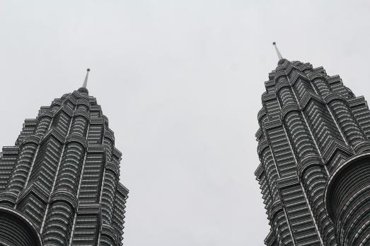 Tope de las torres gemelas de Kuala Lumpur