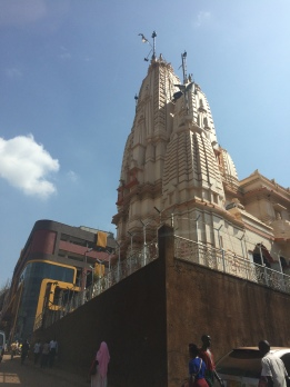 Templo Hindú en Kampala