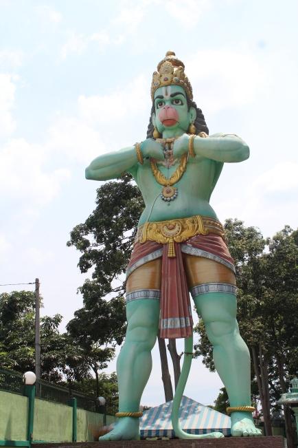 Estatua de Hanuman, el Dios Mono