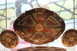 vasijas chinas con califrafía árabe islámica
