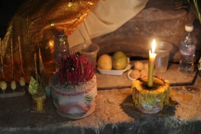 sección interna aun en uso para ceremonias de puyas (agradecimientos)