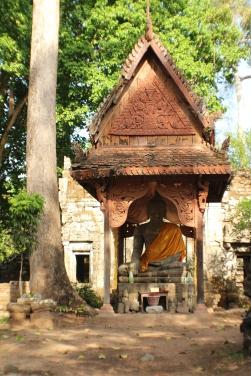 Las estatuas de Buda no eran tan comunes como esperaba