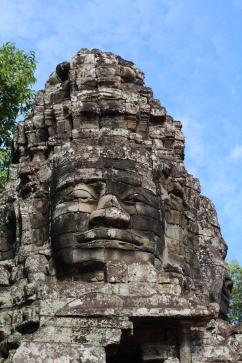 La sonrisa del Jayavarman VII en el templo Bayon