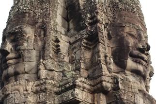 Torres del templo Bayon Angkor Thom Camboya Ruinas Angkor