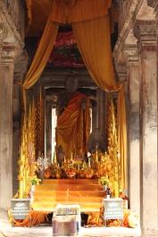Altar de Buda en Angkor Wat