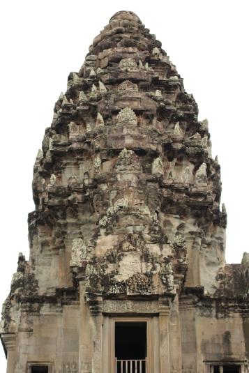 Los picos sobresalientes como llamas en las torres de Angkor Wat fueron inspirado enlas flores de loto