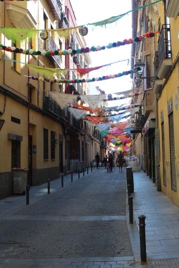 Calles de Madrid decoradas