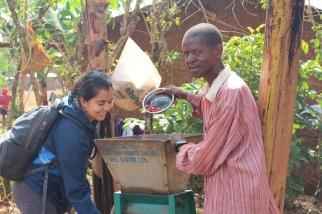 Tour de café en Uganda Africa