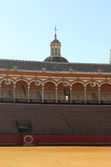 Gradas Real Plaza de Toros de Sevilla