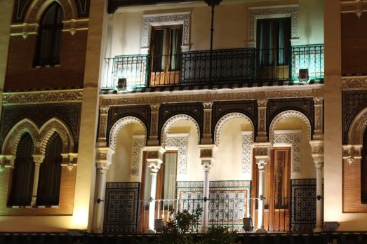 Arquitectura de las calles de Sevilla