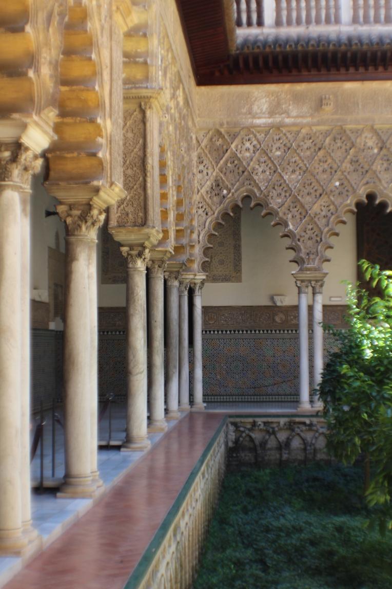 Patio de las Doncellas  El Alcazar, Seville Seville España Spain