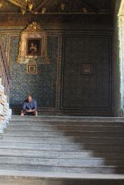 Escaleras a segunda planta Casa Pilatos