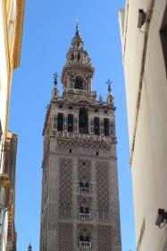 Vista externa Torre la Giralda